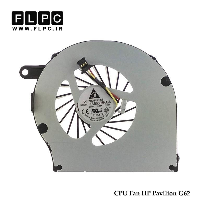 فن لپ تاپ اچ پی HP Pavilion G62 Laptop CPU Fan برد سبز