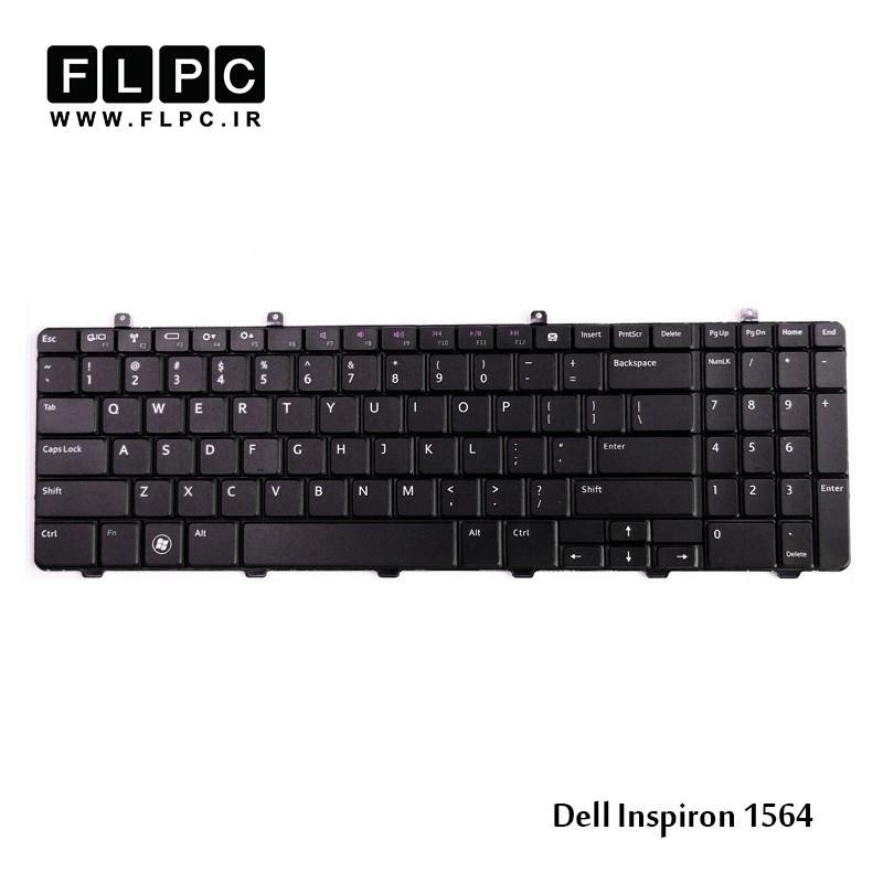 کیبورد لپ تاپ دل Dell Laptop Keyboard Inspiron 1564 مشکی