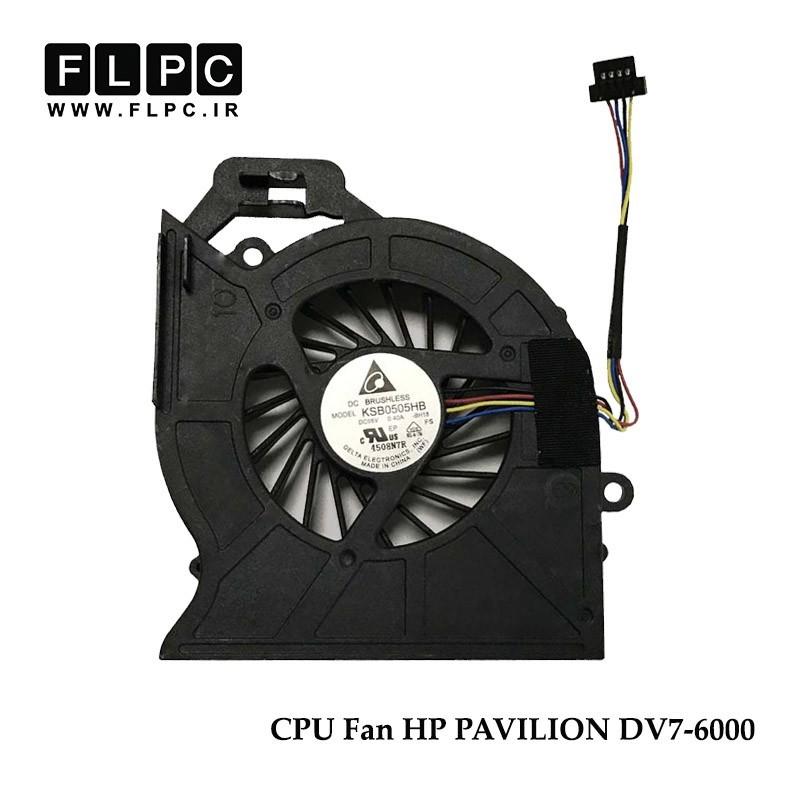فن لپ تاپ اچ پی HP Pavilion DV7-6000 Laptop CPU Fan