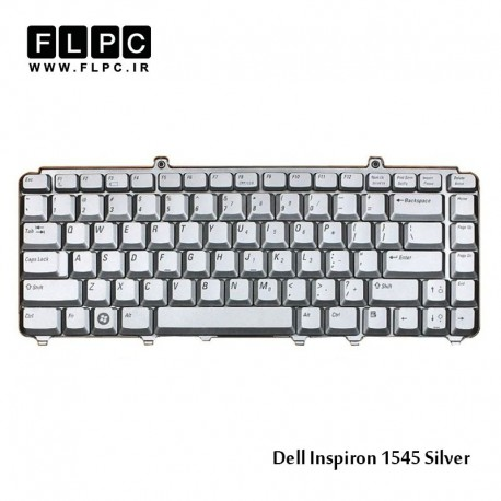 کیبورد لپ تاپ دل Dell laptop keyboard Inspiron 1545-Silver