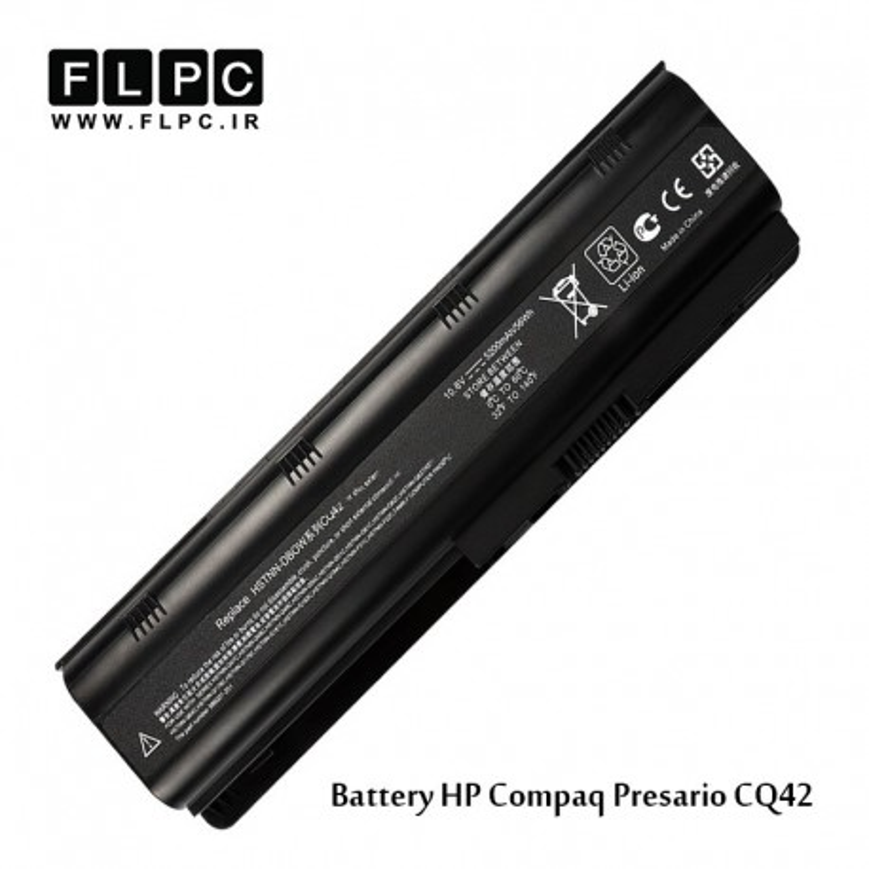 باطری لپ تاپ اچ پی HP Laptop battery Compaq Presario CQ42 -6cell
