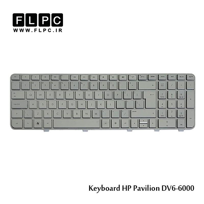 کیبورد لپ تاپ اچ پی HP laptop keyboard Pavilion DV6-6000-Silver