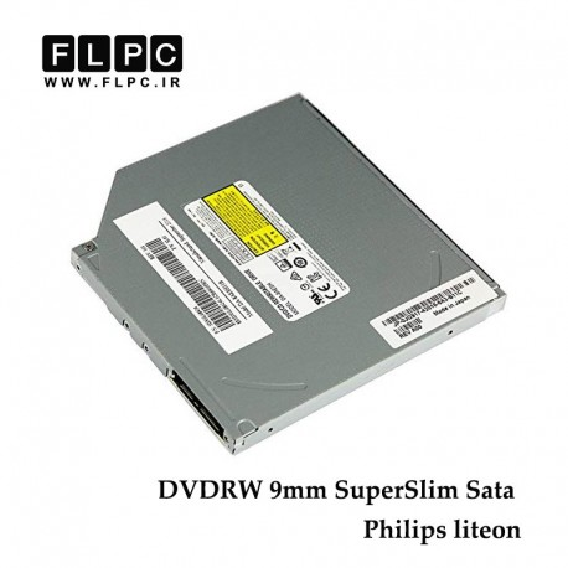 دی وی دی رایتر ساتا سوپراسلیم 9 میلی متر / Laptop 9mm SuperSlim Sata DVDRW Philips liteon