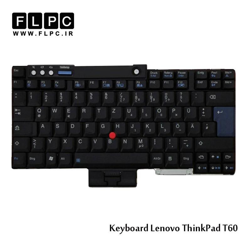کیبورد لپ تاپ لنوو Lenovo Laptop Keyboard Thinkpad T60 مشکی-باموس