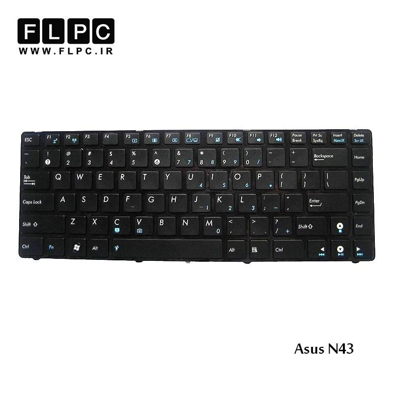 کیبورد لپ تاپ ایسوس Asus Laptop keyboard N43