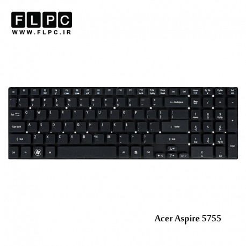 کیبورد لپ تاپ ایسر Acer Laptop Keyboard Aspire 5755
