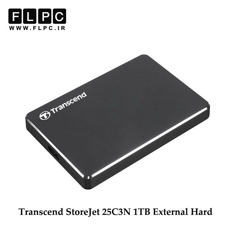 هارد اکسترنال ترنسند مدل StoreJet 25C3N ظرفیت 1 ترابایت