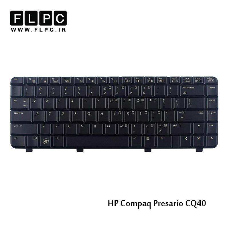 کیبورد لپ تاپ اچ پی مشکی HP laptop keyboard Compaq Presario CQ40 Black