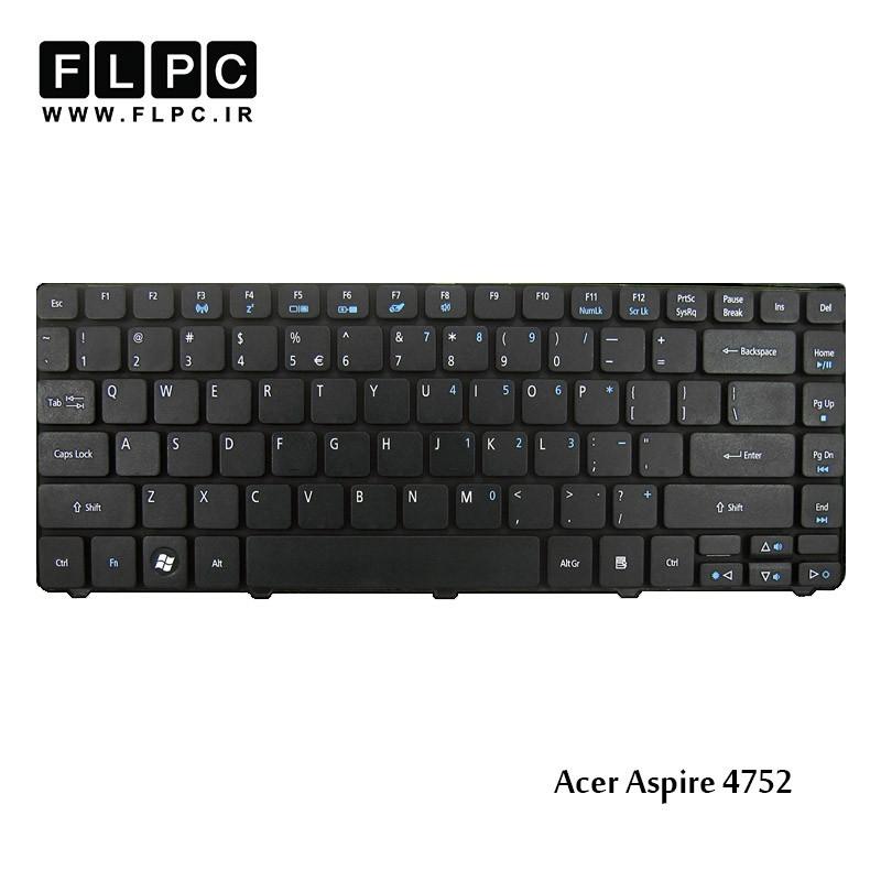 تصویر کیبورد لپ تاپ ایسر 4752 مشکی Acer Aspire 4752 Laptop Keyboard