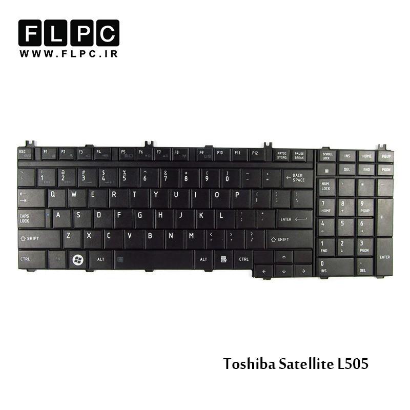 کیبورد لپ تاپ توشیبا Toshiba Laptop Keyboard Satellite L505