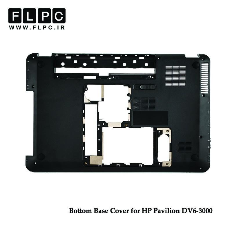 قاب کف لپ تاپ اچ پی HP Pavilion DV6-3000 Laptop Bottom Case _Cover D مشکی