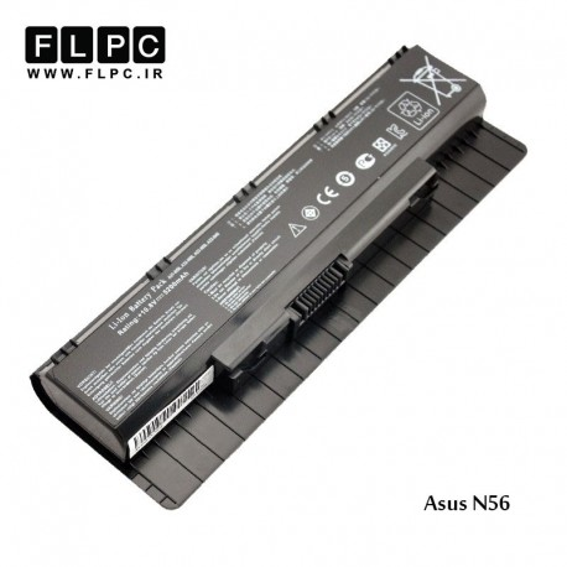 باطری لپ تاپ ایسوس Asus Laptop battery N56 -6cell