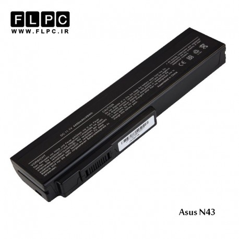 باطری لپ تاپ ایسوس Asus N43 Laptop Battery _6cell