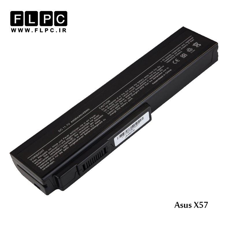 باطری لپ تاپ ایسوس Asus X57 Laptop battery _6cell