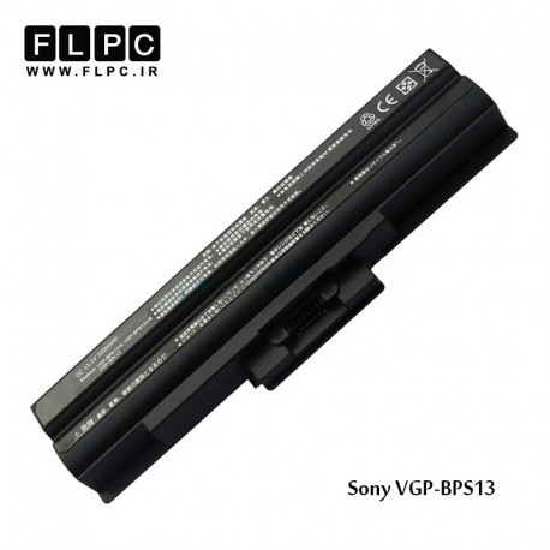 باطری لپ تاپ سونی Sony battery VGP-BPS13 (Black) 6cell