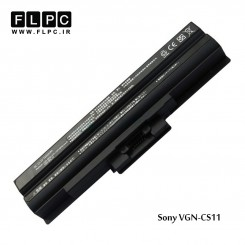 باطری لپ تاپ سونی Sony Vaio VGN-CS11 Battery (Black) 6cell