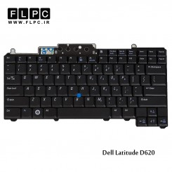 کیبورد لپ تاپ دل Dell laptop keyboard Latitude D620 باموس