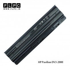 باطری لپ تاپ اچ پی HP Laptop battery Pavilion DV3-2000 -6cell
