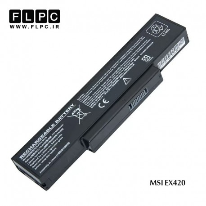باطری لپ تاپ ام اس آی MSI laptop battery EX420-6cell