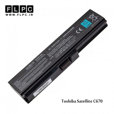 باطری لپ تاپ توشیبا Toshiba laptop battery Sattelite C670 -6cell