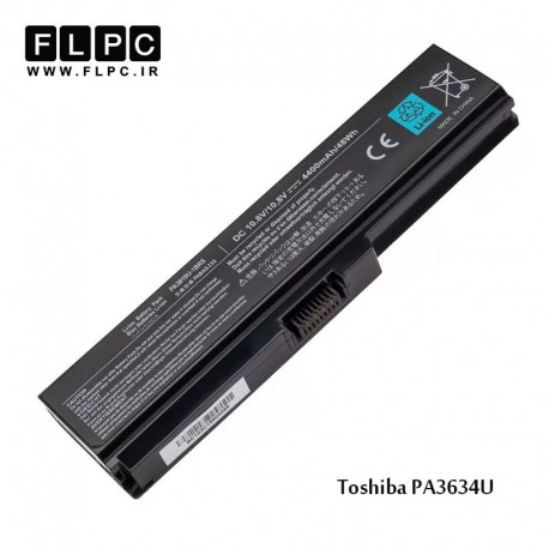 باطری باتری لپ تاپ توشیبا Toshiba laptop battery PA3634 -6cell