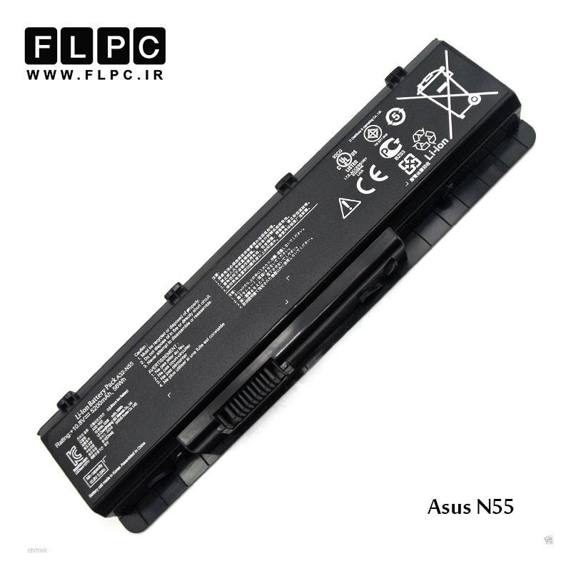 باطری باتری لپ تاپ ایسوس Asus Laptop battery N55 - 6cell