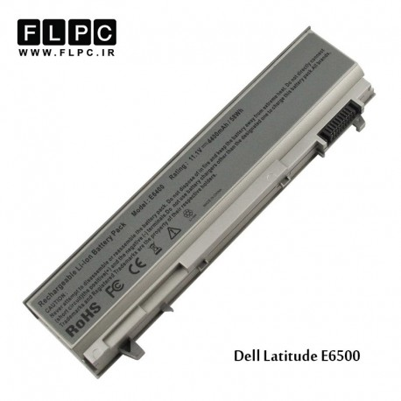 باطری لپ تاپ دل Dell laptop battery Latitude E6500- 6cell