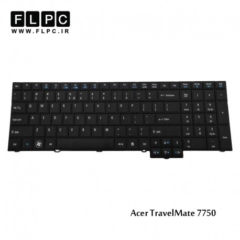 کیبورد لپ تاپ ایسر Acer Laptop Keyboard TravelMate 7750