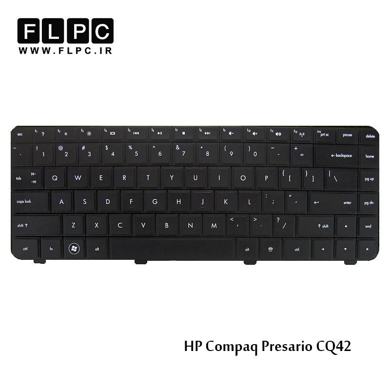 کیبورد لپ تاپ اچ پی HP laptop keyboard Compaq Presario CQ42 مشکی