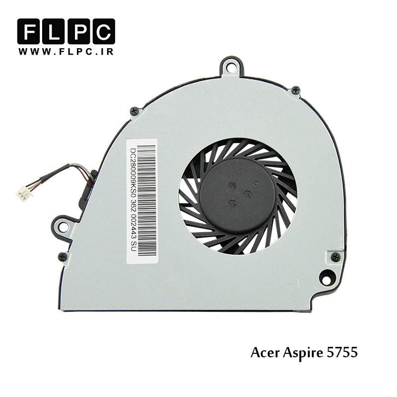 فن لپ تاپ ایسر Acer Aspire 5755 Laptop CPU Fan حلزونی