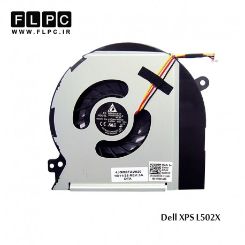 سی پی یو فن لپ تاپ دل Dell laptop cpu-fan XPS L502