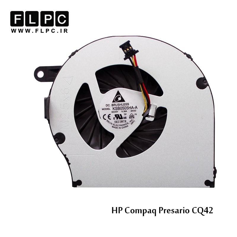فن لپ تاپ اچ پی HP Compaq CQ42 Laptop CPU Fan برد سبز