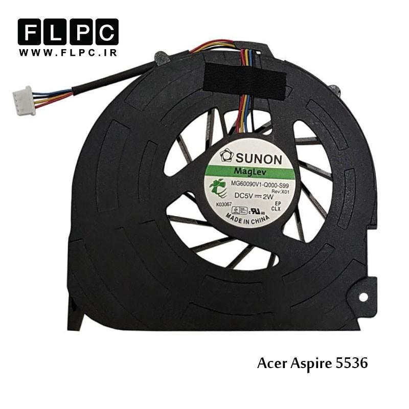 سی پی یو فن لپ تاپ ایسر Acer Laptop CPU Fan Aspire 5536 چهار سیم