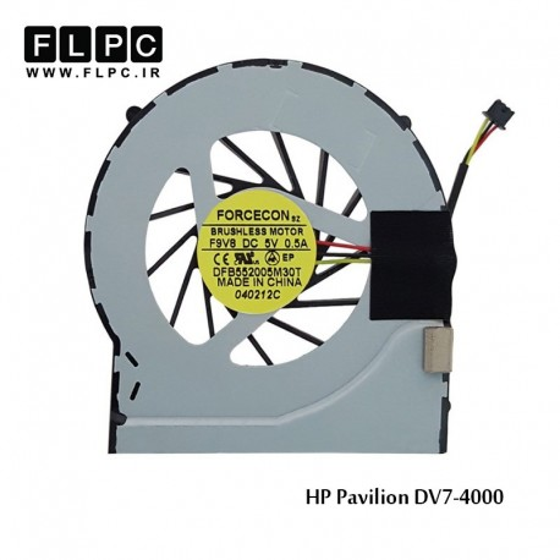 سی پی یو فن لپ تاپ اچ پی HP laptop CPU Fan Pavilion DV7-4000