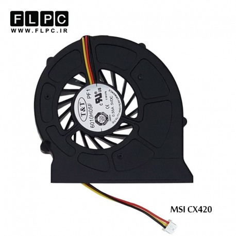 سی پی یو فن لپ تاپ ام اس آی MSI laptop Cpu Fan CX420