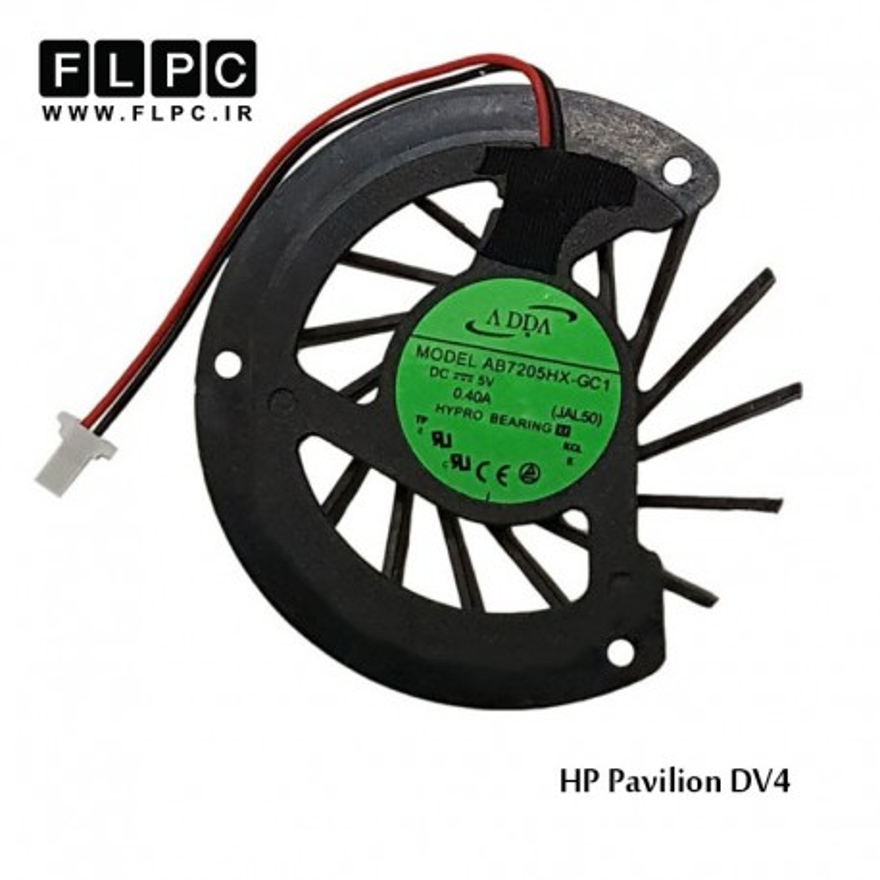 سی پی یو فن لپ تاپ اچ پی HP laptop CPUFan Pavilion DV4-AMD