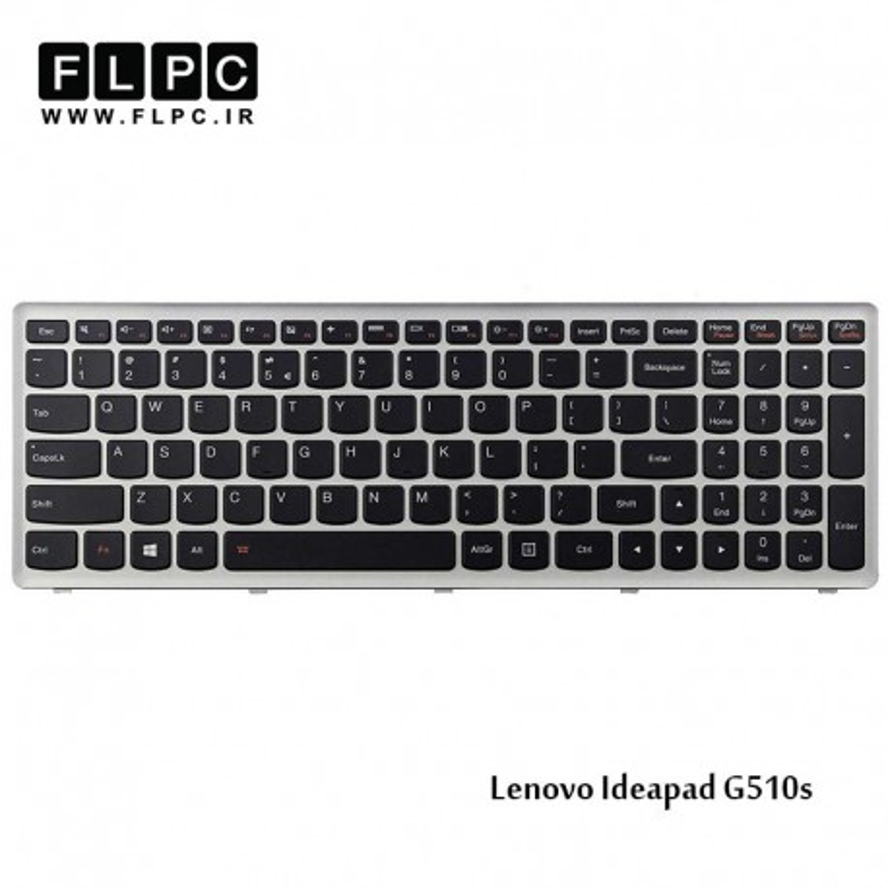 کیبورد لپ تاپ دل Dell Laptop Keyboard Vostro 3300 با بک لایت