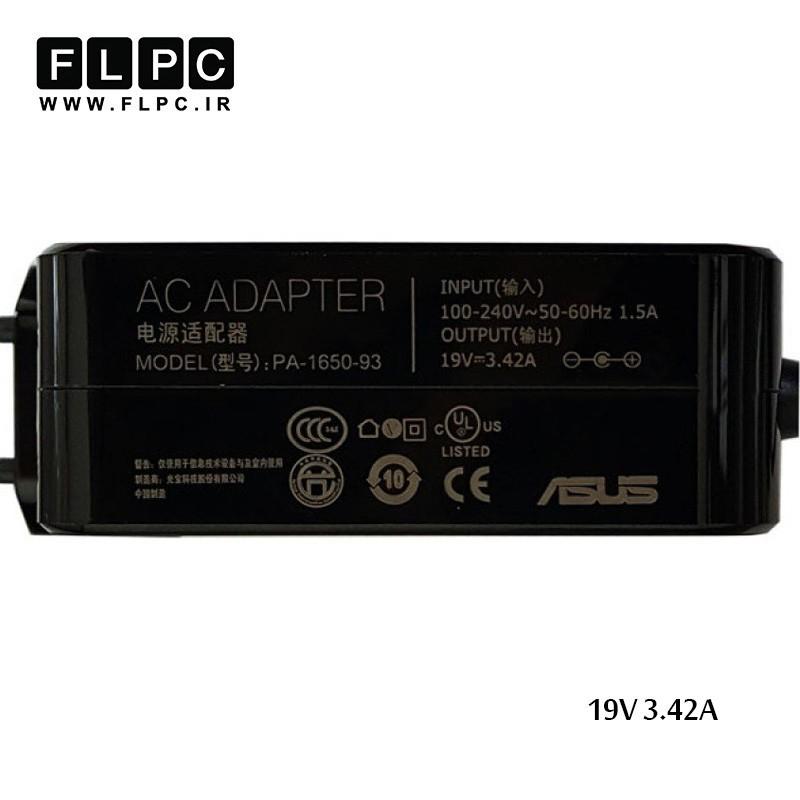 آداپتور لپ تاپ ایسوس 19ولت 3.42 آمپر Asus Laptop Adaptor 19V 3.42A K556 / K556