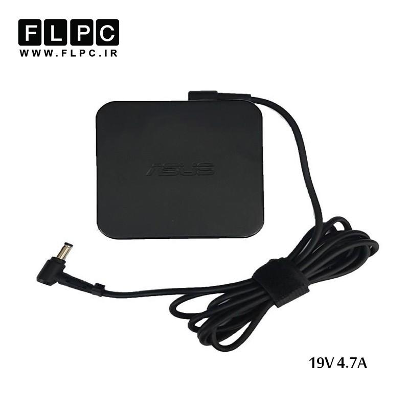 آداپتور لپ تاپ ایسوس 19ولت 4.7 آمپر مربعی /Asus Laptop Adaptor 19V 4.7A Square