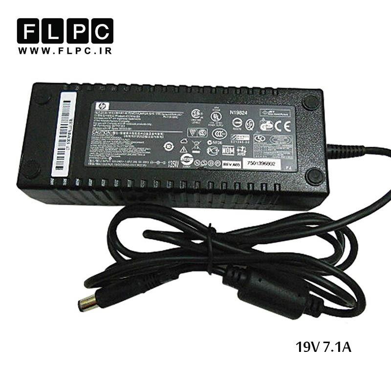 آداپتور لپ تاپ اچ پی 19 ولت 7.1 آمپر 135 وات/HP Laptop Adaptor 19V 7.1A 135W