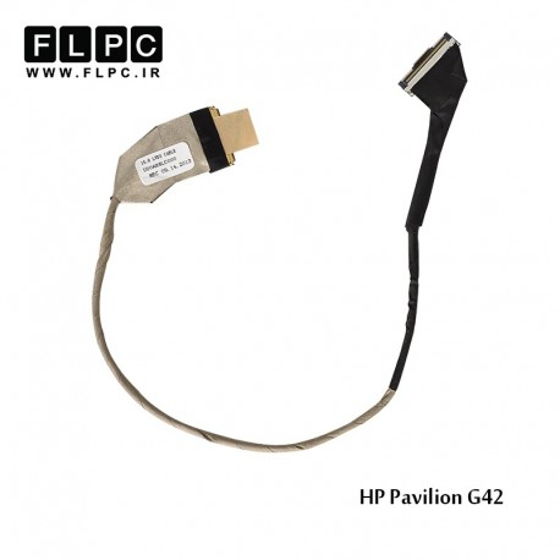 فلت تصویر لپ تاپ اچ پی HP Pavilion G42 Laptop Screen Cable _DD0AX1LC000 بدون وب
