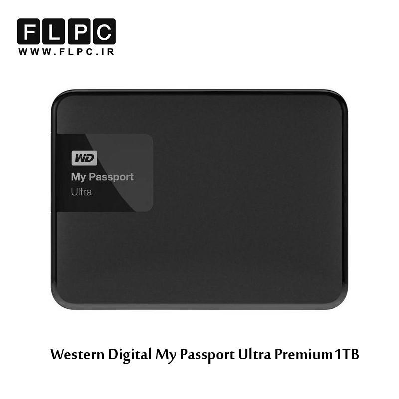 هارد اکسترنال ای دیتا مدل My Passport Ultra یک ترابایت Western Digital My Passport Ultra 1TB