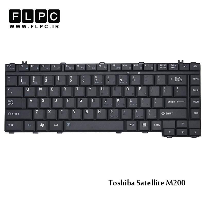 کیبورد لپ تاپ توشیبا Toshiba Laptop Keyboard Satellite M200 مشکی