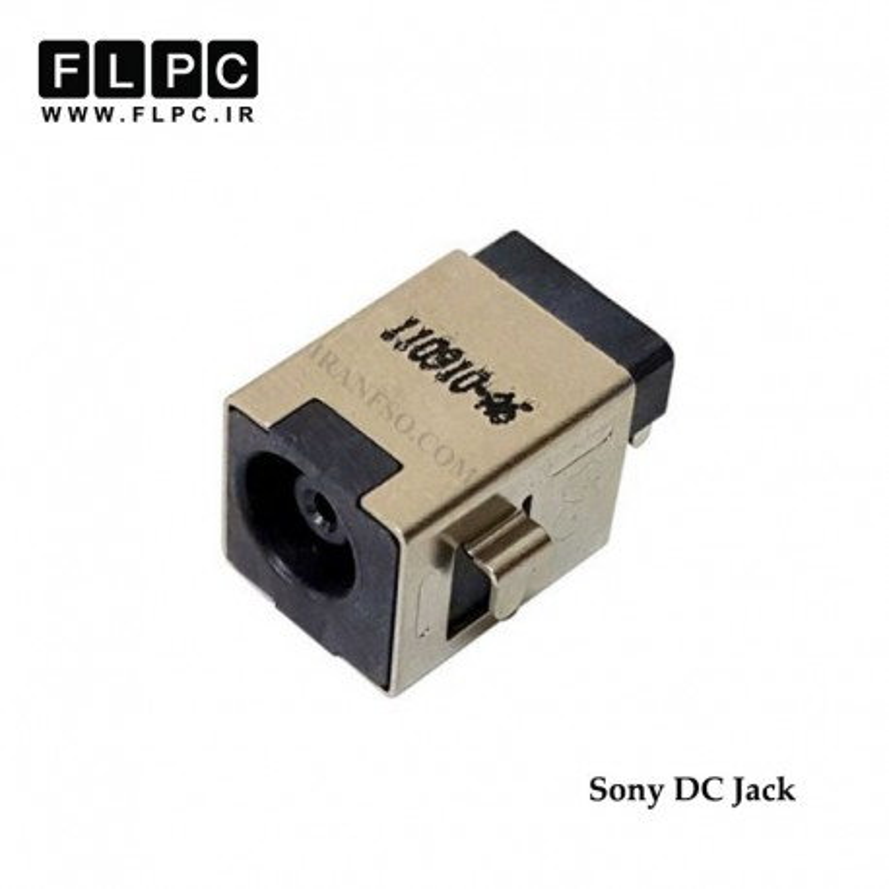جک برق لپ تاپ سونی لای برد 4 پایه Sony Laptop DC Jack Inside PCB FL242
