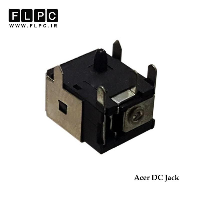 جک برق لپ تاپ ایسر خوابیده 5 پایه از کنار Acer DC Jack Laptop FL003
