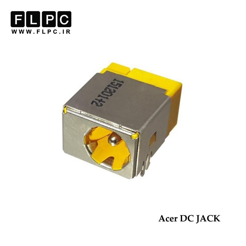 جک برق لپ تاپ ایسر خوابیده 5 پایه از وسط Acer Laptop DC Jack FL123