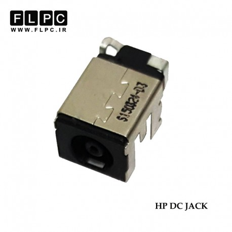 جک برق لپ تاپ اچ پی لای برد 4 پایه HP Laptop DC Jack IN Side PCB FL442