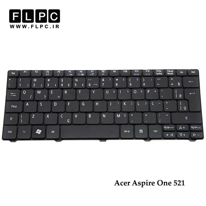 کیبورد لپ تاپ ایسر Acer Laptop Keyboard Aspire One 521