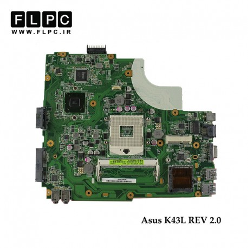 مادربورد لپ تاپ ایسوس Asus Laptop Motherboard K43L Rev2.0