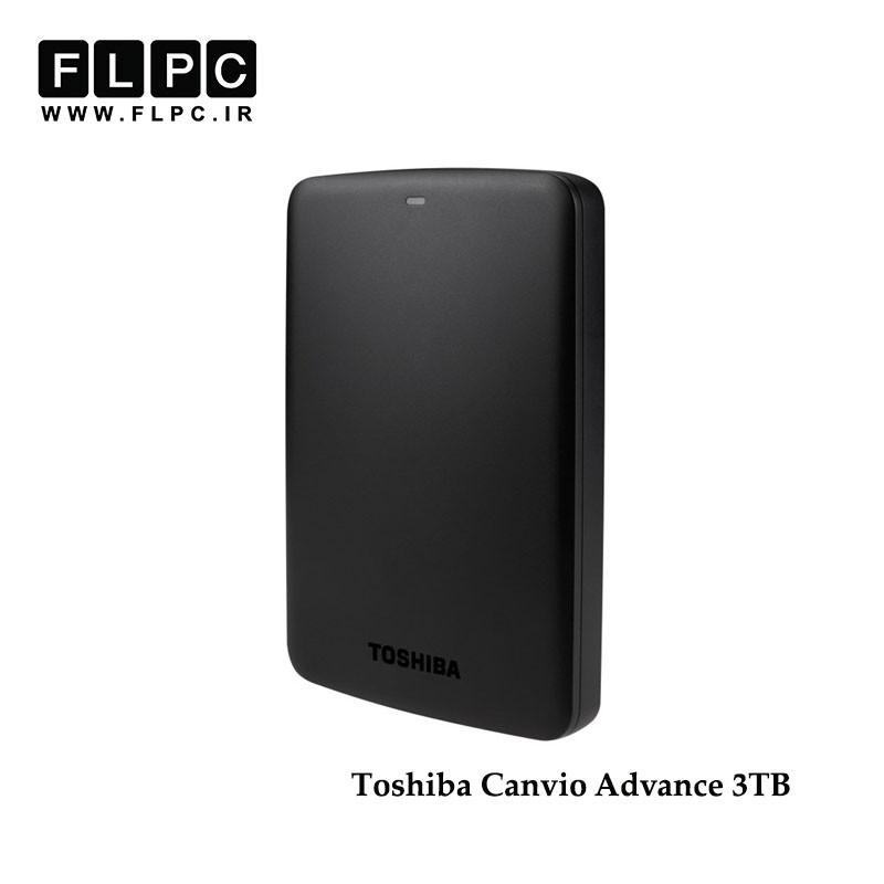 هارد اکسترنال توشیبا مدل Canvio Basics سه ترابایت/ Toshiba Canvio Basics External Hard Drive 3TB